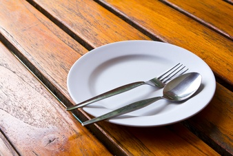 empty plate image